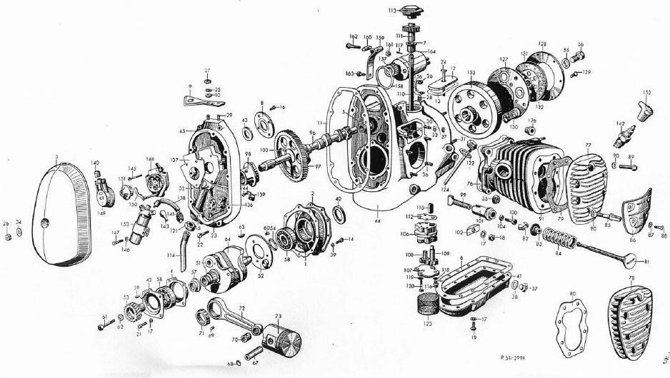 Flat Engine Diagram